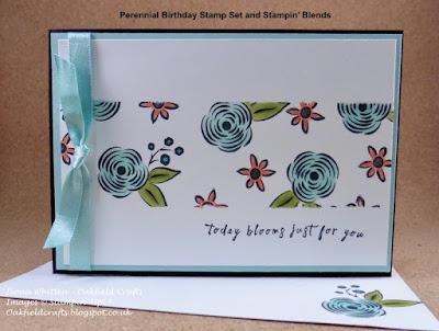 Perennial Birthday, Blog Hop, #Oakfieldcrafts, #Stampinupuk
