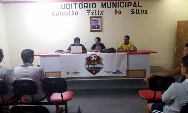 Prefeitura de Taquaritinga do Norte vai pagar mais de R$ 153 mil para empresa realizar campeonato de futsal
