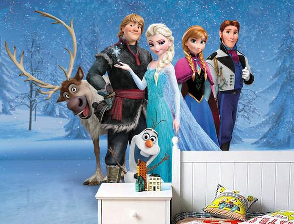 Lasten Tapetti Frozen Disney