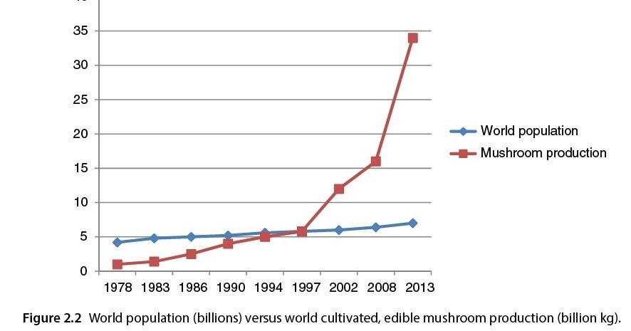 diagram of a mushroom conversable economist economics of mushroom production kennett diagram of a typical mushroom economics of mushroom production
