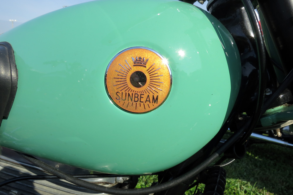 Sunbeam logo.