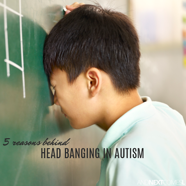 Autism and head banging: 5 reasons why it might be happening