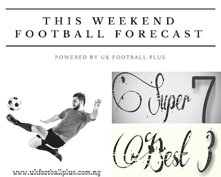 THIS WEEKEND FOOTBALL FORECAST | FOOTBALL PREDICTION | 13-10-18 | www.ukfootballplus.com.ng