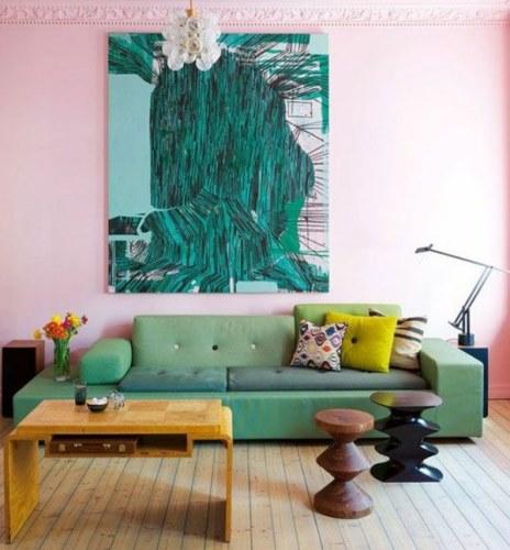 Pilihan warna cat untuk ruang tamu yang sejuk Warna Cat Ruang Tamu yang Sejuk