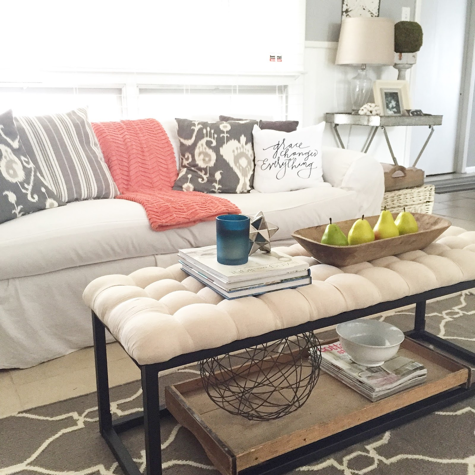 Modern Farmhouse Coffee Table: 12th And White: Modern Farmhouse Coffee Table