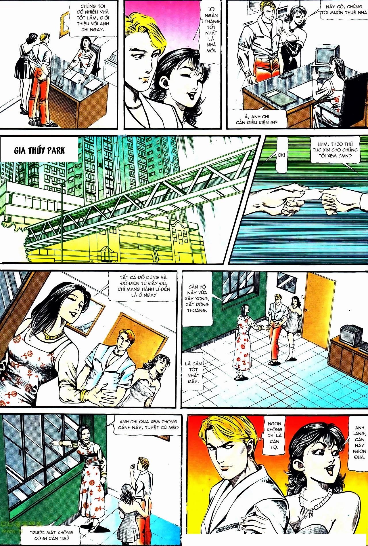 Người Trong Giang Hồ chapter 122: phố dục lạc trang 15