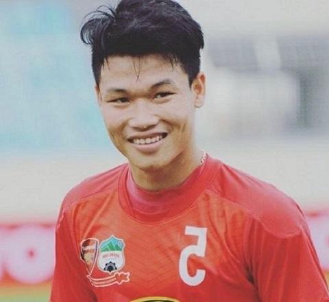 Đông Triều trong màu áo của HAGL - Arsenal