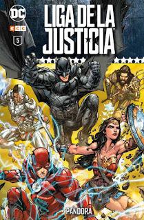Liga de la Justicia: Coleccionable semanal tomo5