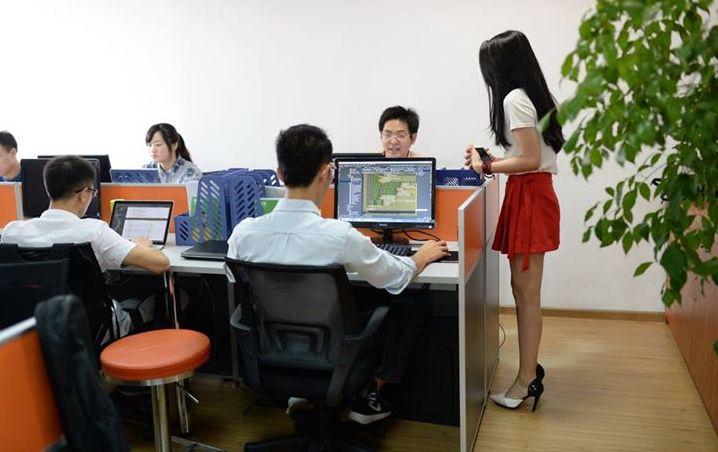 cheerleaders de programación china
