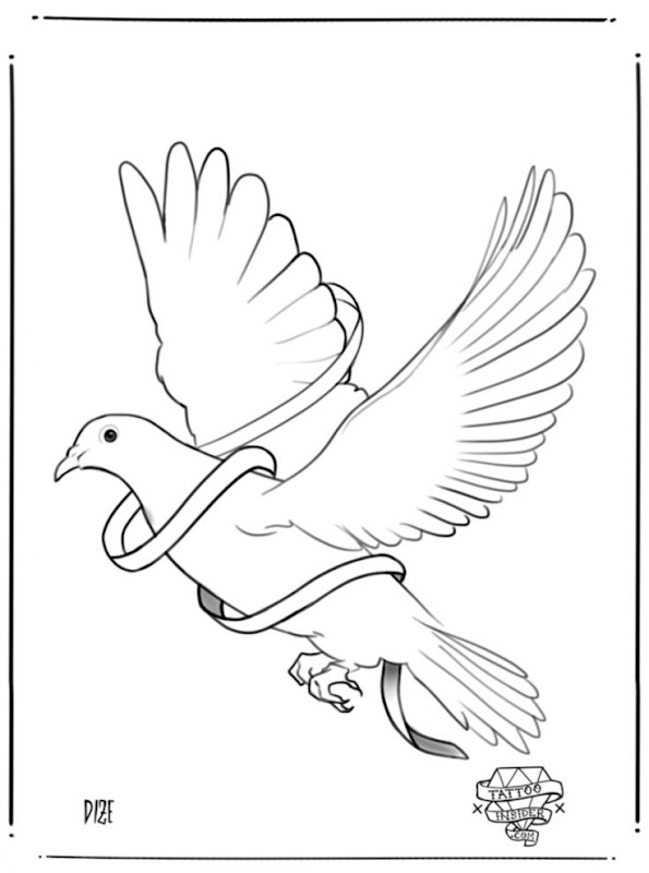 Dove Drawing Tattoo   Wallpapers Clone