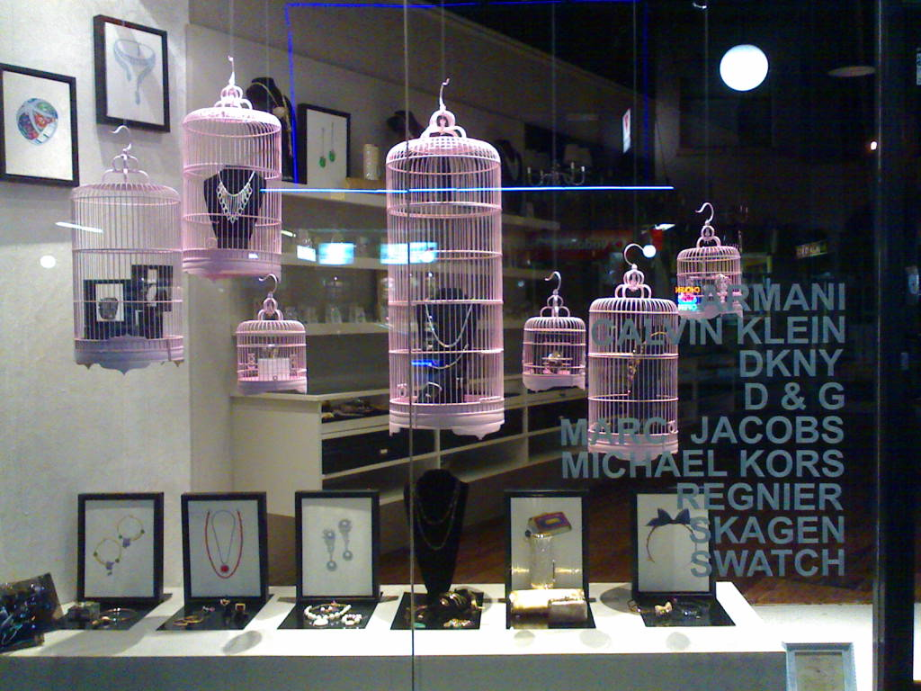 Design Context Window Displays