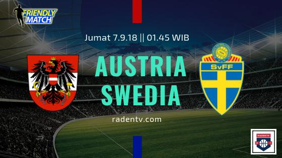 Streaming Austria vs Swedia