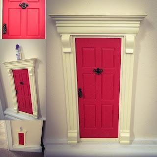 magic fairy elf door