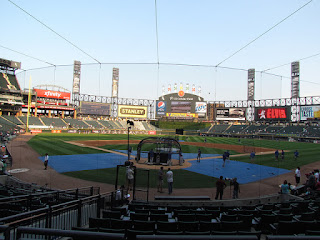 Home to center, US Cellular Field
