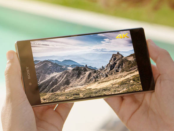 Smartphone com tela 4K da Sony