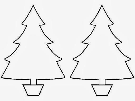 Varios Moldes Para Enfeitar A Arvore De Natal So Escola
