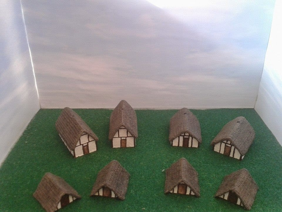 10mm Roman/Sub Roman/Saxon/Viking building to create a small village picture 1