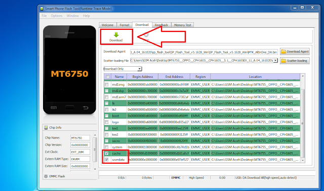 download firmware oppo r2001 via flashtool