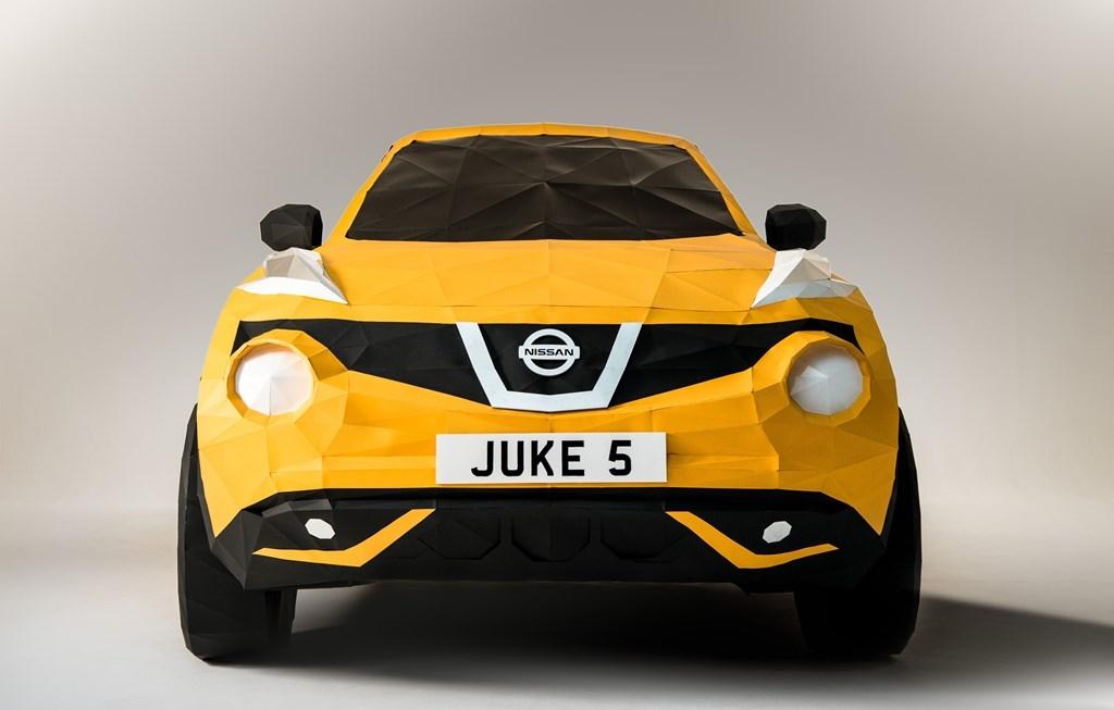juke4 H Nissan το τερμάτισε: Έφτιαξε Juke από... χαρτί Nissan, Nissan Juke