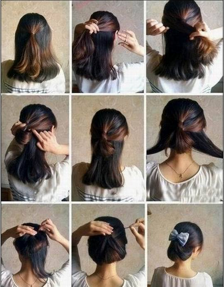 How to Have Cute Hair Updo
