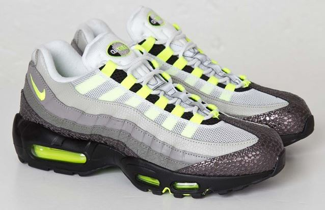 631f133ee803 Here is a look at the Nike Air Max 95 OG Premium Safari Sneaker Available  Now HERE and the Reflective HERE