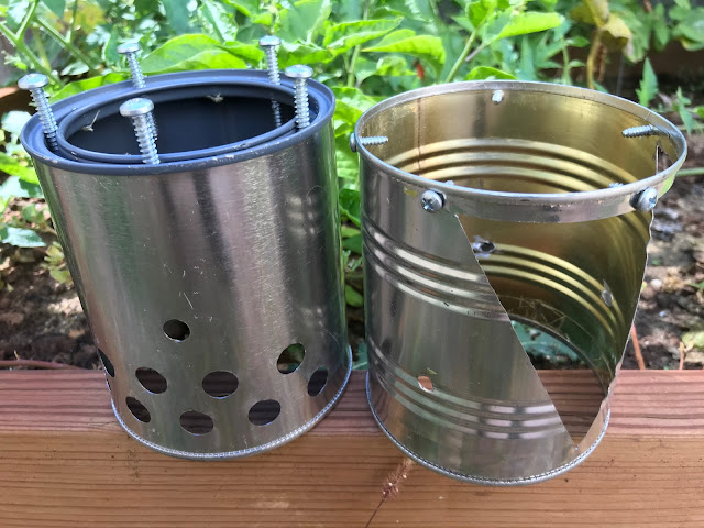 Compact Wood Burning Backpacking Stove