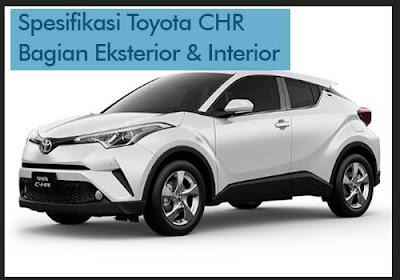 Spesifikasi Toyota CHR