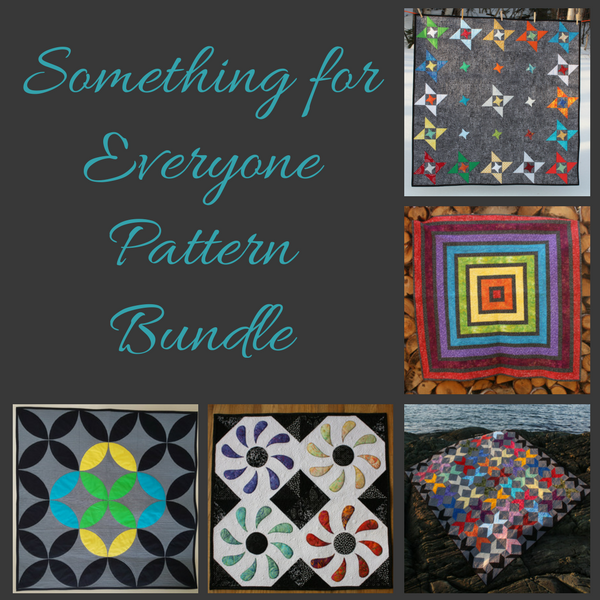 Something for Everyone quilt pattern bundle | DevotedQuilter.blogspot.com