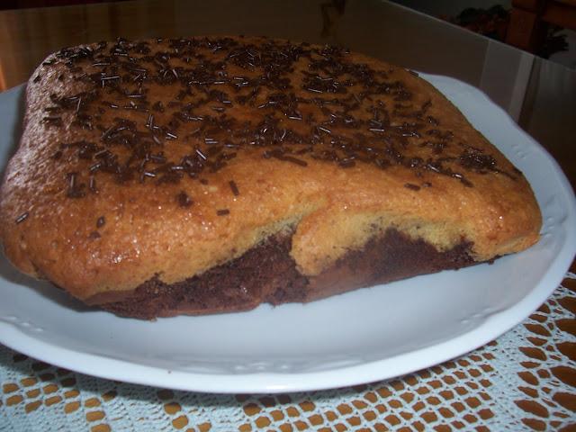 Bizcocho de Chocolate y Coco. Receta