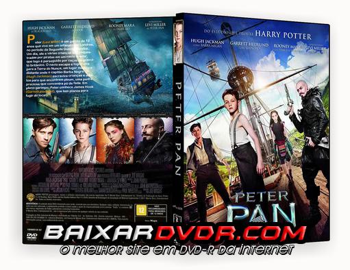 PETER PAN (2015) DUAL AUDIO DVD-R OFICIAL