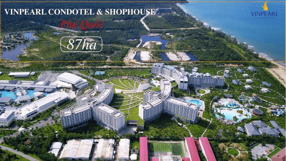 Tổng thể dự án Shophoue Phú Quốc
