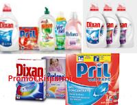 Logo Concorso Henkel '' 200 buoni spesa del pulito'': vinci buoni spesa da 30€