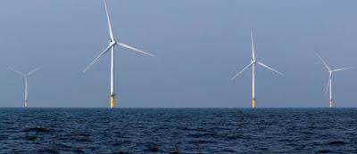 Okyanusta Rüzgar Türbinleri
