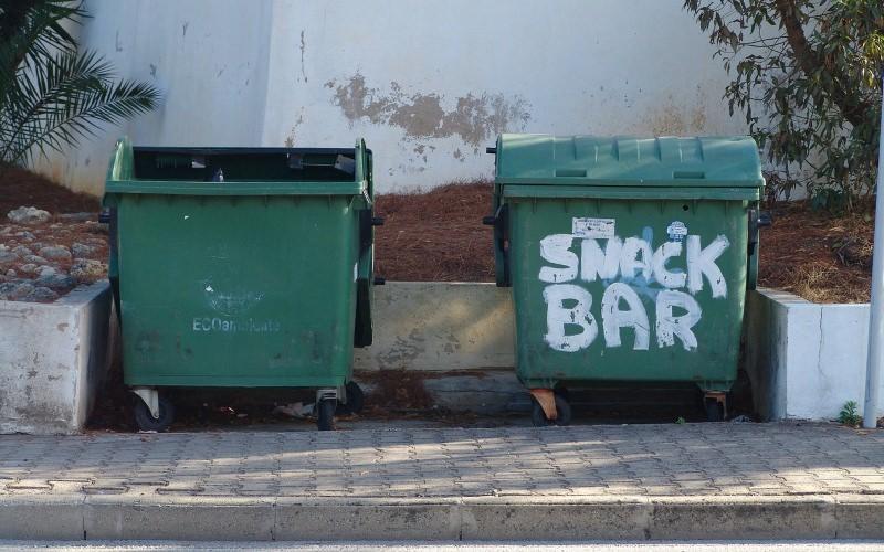 Caixotes de lixo