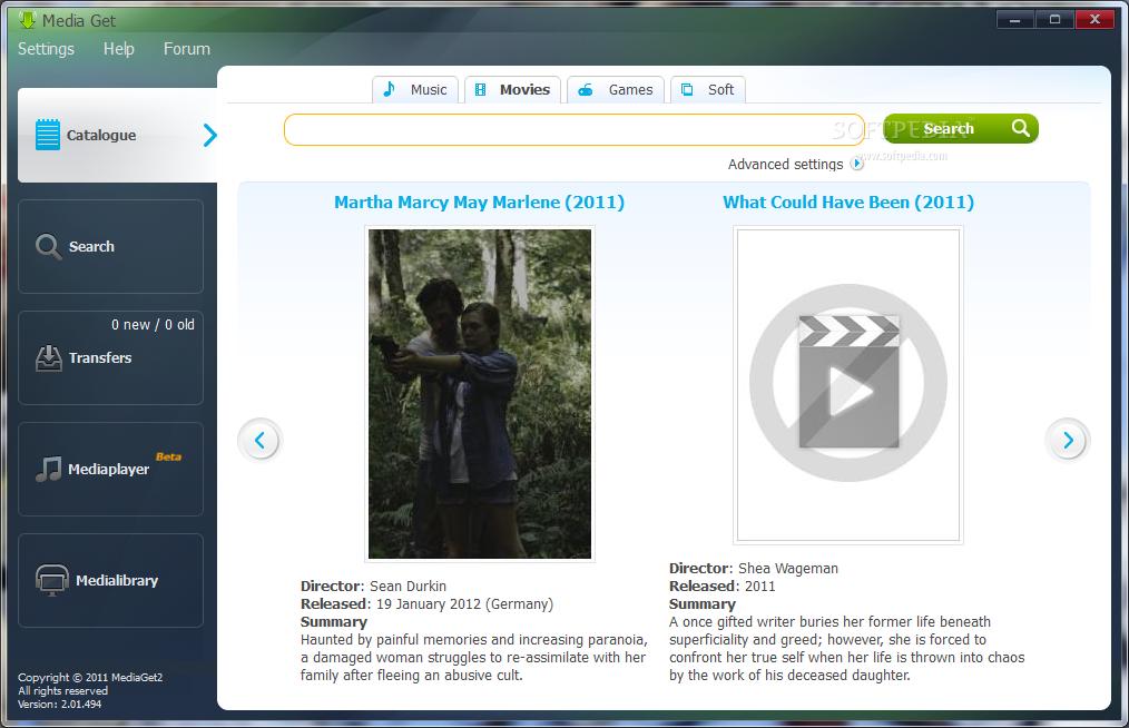 mediaget gratuit 2012
