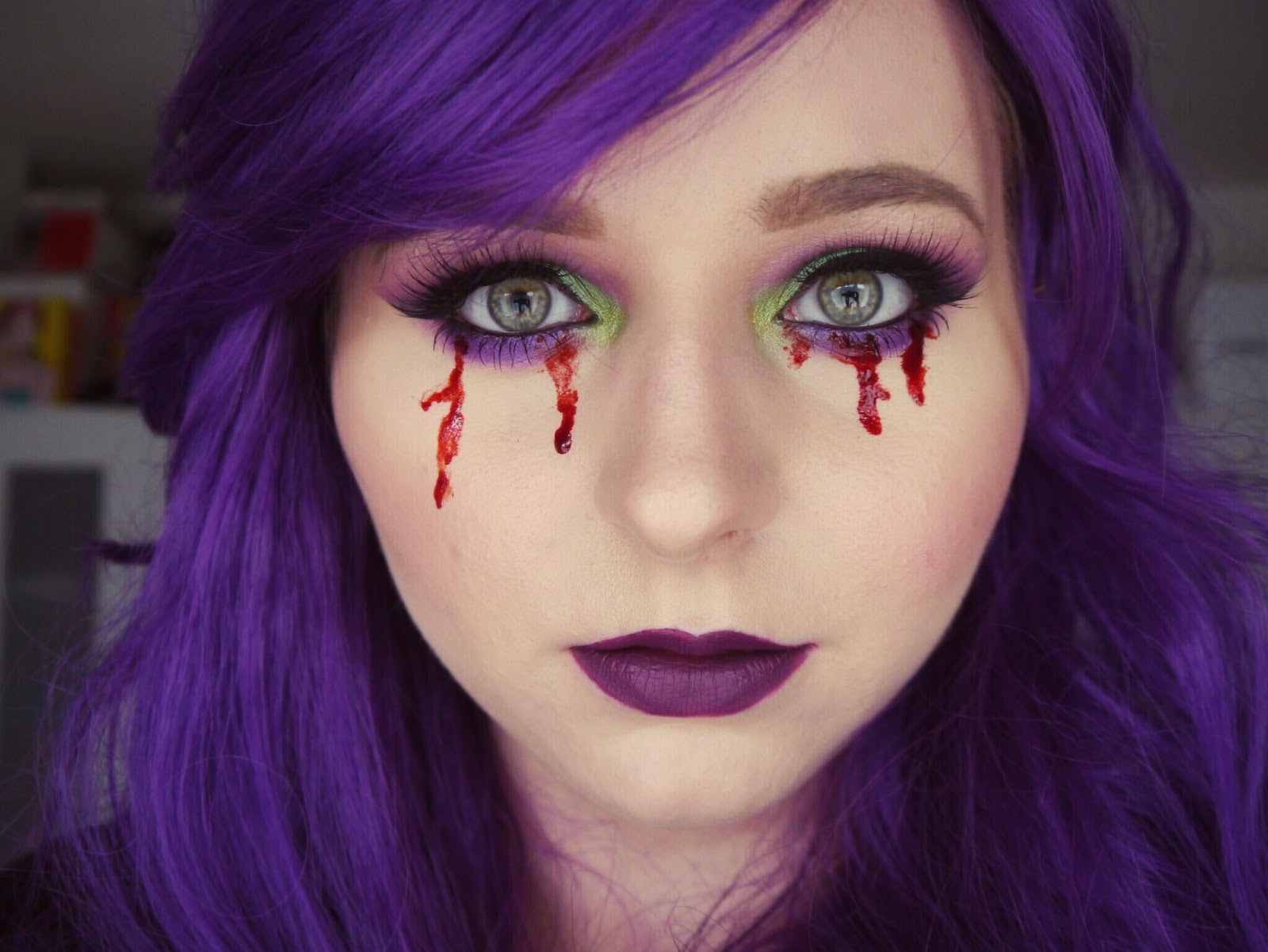 Blogoween Look #1 | The Girl Who Cried Blood