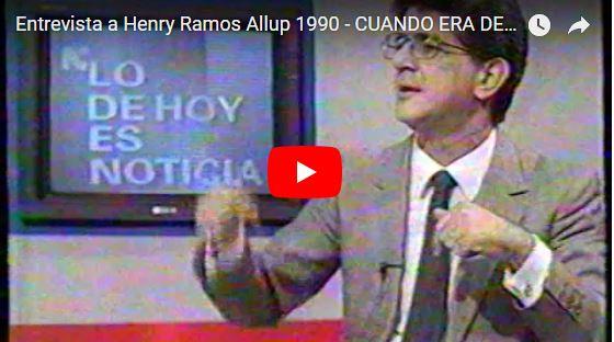 Dhamelis Diaz entrevistando a Henry Ramos Allup - Qué sorpresa!