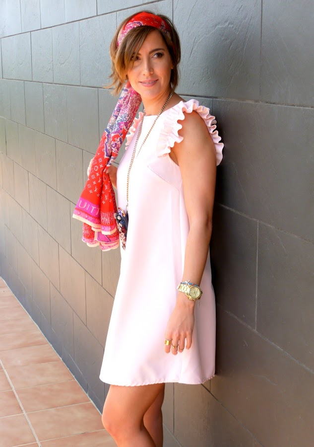 Fitness And Chicness-Light Pink Dress Vestido y Tacon-6