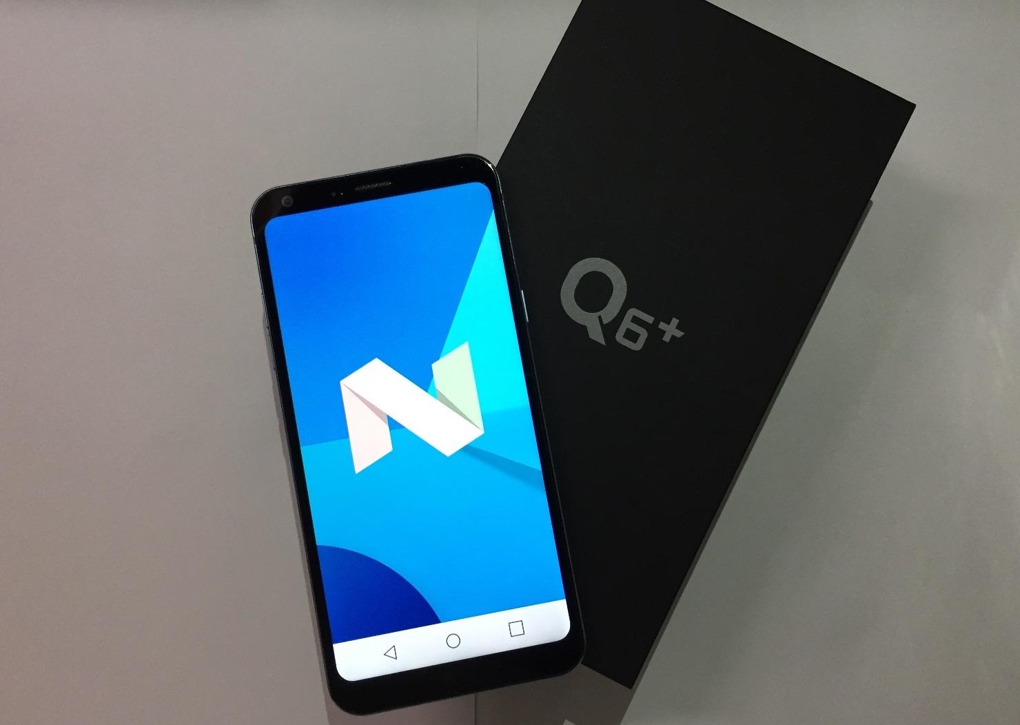 30933cb57 Unboxing of LG Q6 Plus Smartphone