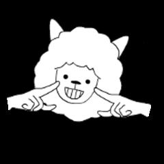Alpaca's your mood sticker to move6