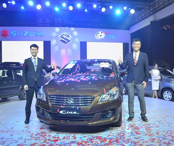 Suzuki Philippines makes a splash with its award-winning cars on exhibit at the opening of the 6th PIMS