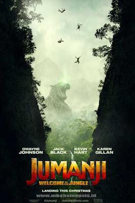 Sinopsis Film Jumanji 2: Welcome to the Jungle 2017