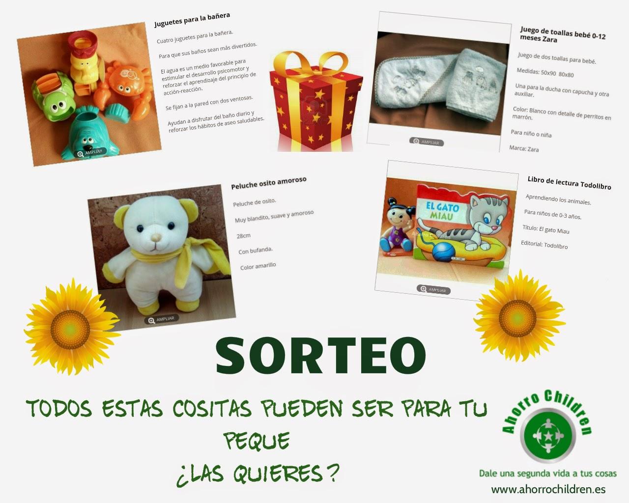 Sorteo ahorro children
