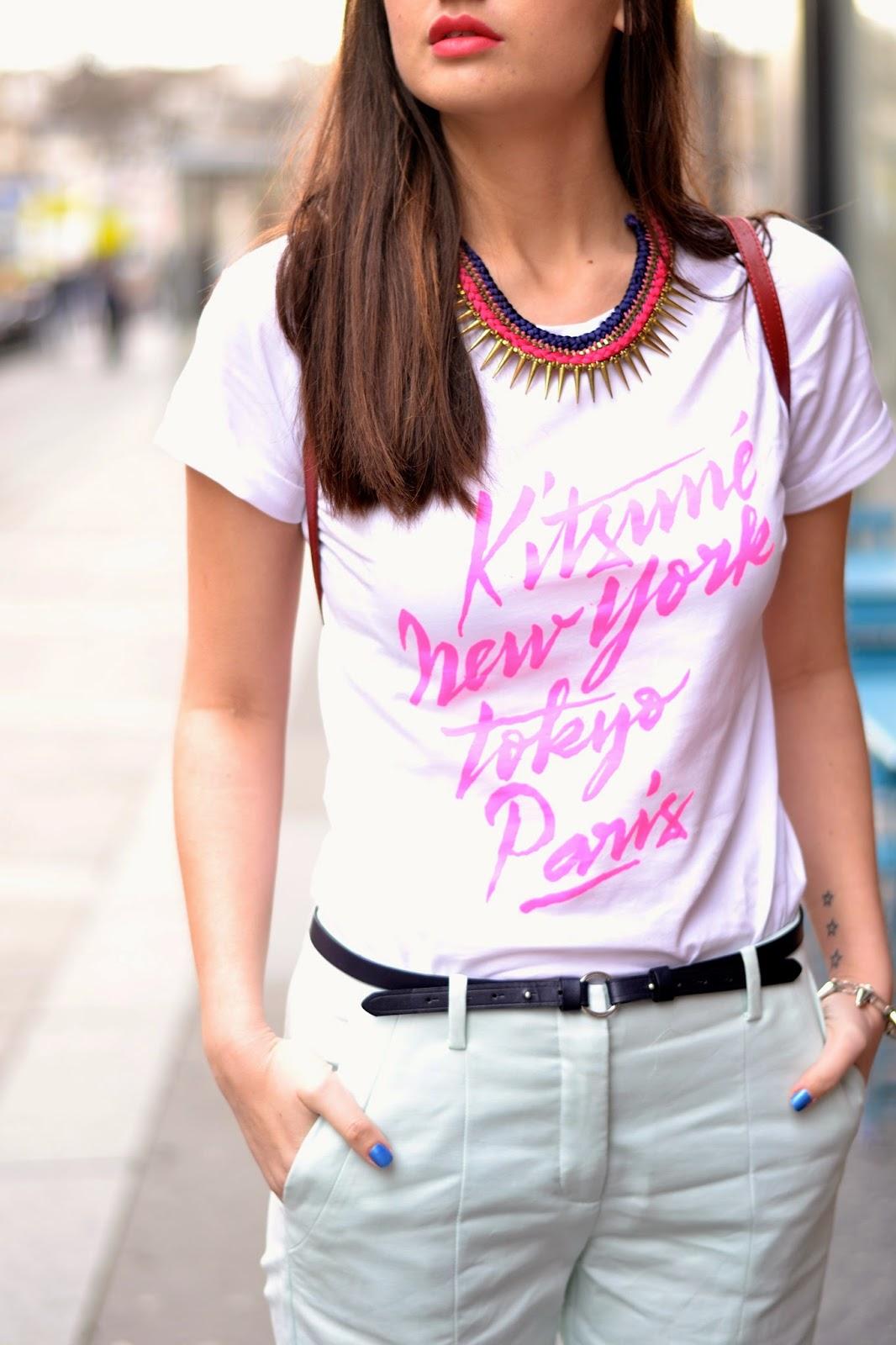 Kitsune  T恤