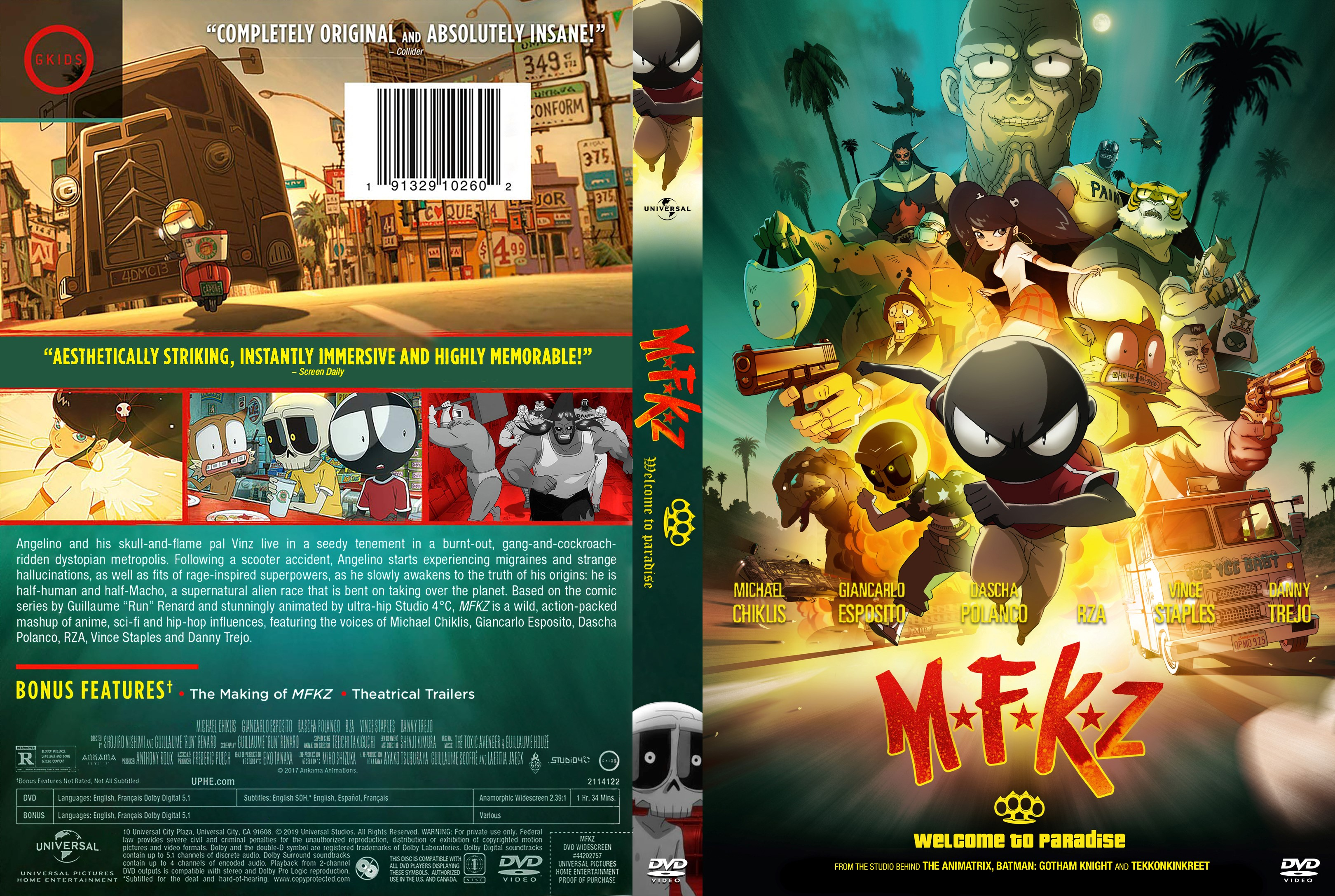 Mfkz Mutafukaz Dvd Cover Cover Addict Free Dvd Bluray Covers And Movie Posters