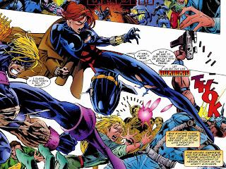 Resultado de imagem para Avengers: The Crossing (1995) black widow