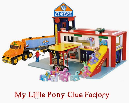 Funny My Little Pony Glue Factory Picture