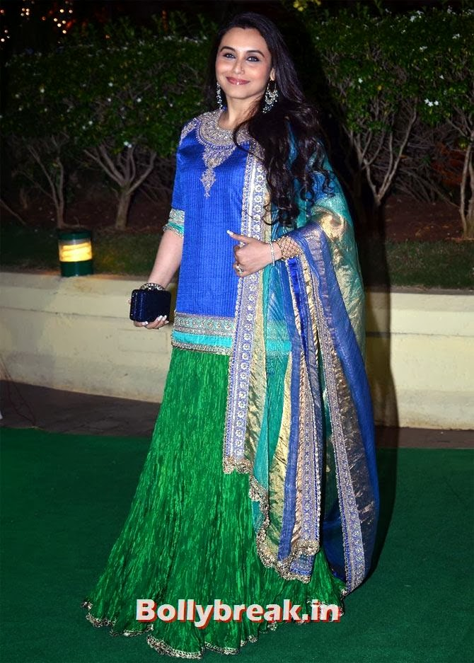Rani Mukerji, Which Bollywood Actress Wear the Worst Outfit in Year 2013?