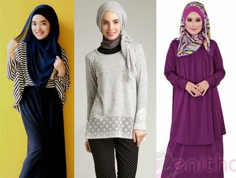 model baju muslimah casual