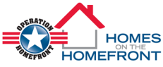 homes on the homefront logo